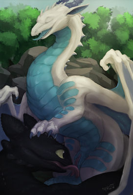 Toothless oral sex